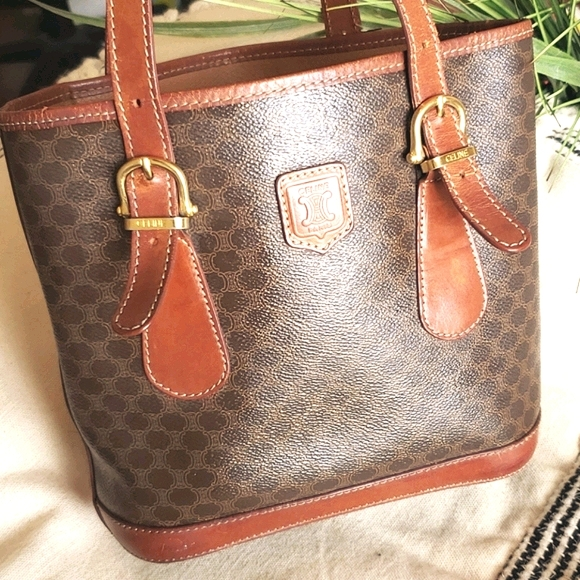 Celine Handbags - Sale-[HP x2] Authenic Celine Vintage  Leather Tote